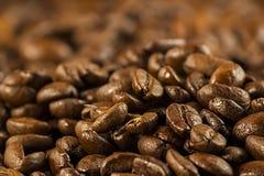 Kawowy bobowy tło Obraz Royalty Free