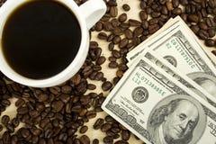 kawowy bogactwo Zdjęcie Royalty Free