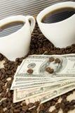kawowy bogactwo Zdjęcia Stock