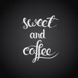 kawowy cukierki Zdjęcia Royalty Free