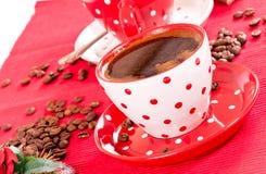 Kawowy czas Fotografia Royalty Free