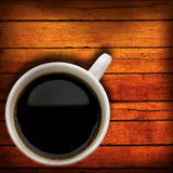 Kawowy czas. Obraz Royalty Free