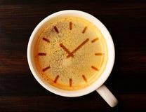 Kawowy czas Zdjęcia Royalty Free