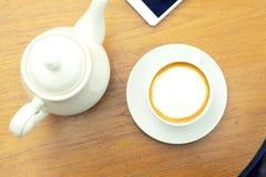 Kawowy czas w popołudniu 2 Obraz Stock