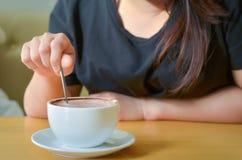 Kawowy czas w ranku, wakacje Zdjęcie Stock