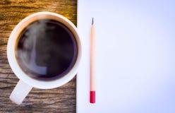 Kawowy czas w ranku, wakacje Obrazy Stock