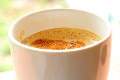 Kawowy czas yummy Fotografia Royalty Free