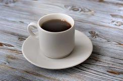 Kawowy czerń, apetyczny Napój od ranku fragrant kawa Zdjęcia Royalty Free