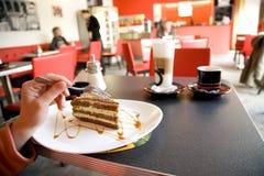 kawowy deser Zdjęcia Stock