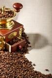 kawowy fasola młyn Obraz Royalty Free