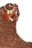 kawowy fasola młyn Fotografia Royalty Free