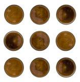 Kawowy Halftone lub gradient Obraz Stock