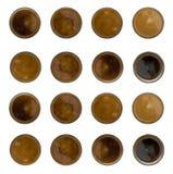 Kawowy Halftone lub gradient Zdjęcia Royalty Free