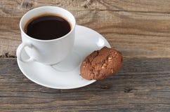 Kawowy i czekoladowy ciastko Obrazy Stock