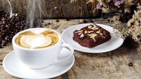 Kawowy i Czekoladowy punkt obraz stock