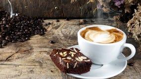 Kawowy i Czekoladowy punkt obrazy royalty free