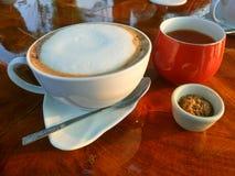 Kawowy i Herbaciany dink obrazy royalty free