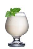 Kawowy koktajl z ajerkoniakiem Fotografia Stock