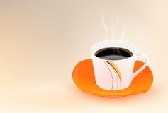 Kawowy kubek Zdjęcia Royalty Free