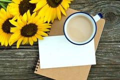 Kawowy kubek Zdjęcia Stock