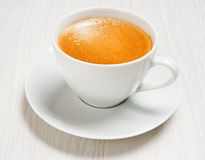 Kawowy lungo Zdjęcia Stock