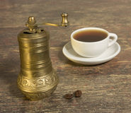 kawowy młyn Fotografia Royalty Free
