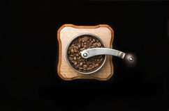 Kawowy młyn Zdjęcia Stock