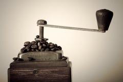 kawowy młyn Obrazy Stock