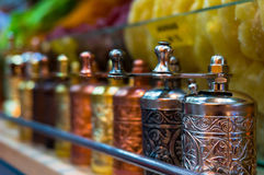 Kawowy młyn Tradycyjny Turecki kawowy ostrzarz Fotografia Stock