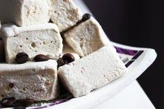 Kawowy marshmallow Zdjęcie Stock