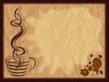 kawowy menu Zdjęcie Royalty Free