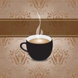 Kawowy menu projekta tło Zdjęcie Stock