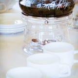 Kawowy nagrzewacz Zdjęcie Royalty Free