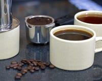 Kawowy napój Zdjęcia Royalty Free