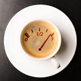 Kawowy napełnianie Zdjęcia Royalty Free
