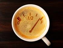 Kawowy napełnianie Fotografia Royalty Free