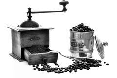Kawowy ostrzarz Zdjęcia Royalty Free