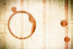 Kawowy pierścionek Fotografia Stock