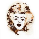 Kawowy portret Obraz Stock