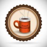 Kawowy projekt Obrazy Royalty Free