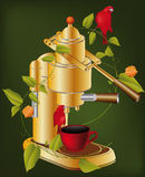 Kawowy przyrząd Fotografia Stock
