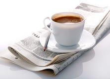 kawowy ranek Obrazy Royalty Free