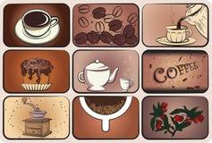 kawowy set Zdjęcie Stock