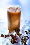 kawowy smoothie zdjęcie stock