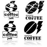 Kawowy szarpnięcie ilustracji