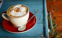 Kawowy szkło Zdjęcie Royalty Free