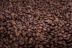 Kawowy tło z selekcyjną ostrością Obraz Royalty Free