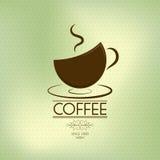 Kawowy tło (oliwny temat) Zdjęcia Stock