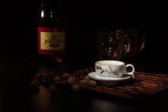 Kawowy tableware Fotografia Royalty Free