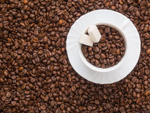 Kawowy temat obrazy stock
